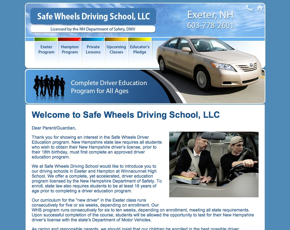 Safe Wheels Driving School, LLC.